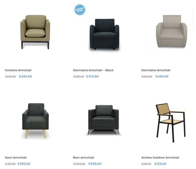 zestlivings armchairs