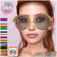 [Fetch] Pride Glasses @ Pride at Home!