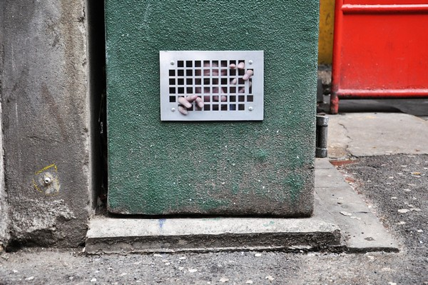 Dan Witz, Rathbone Place, 2013
