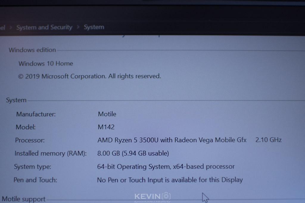 [K]八千能買到好電腦?好香的AMD YES! Motile M142