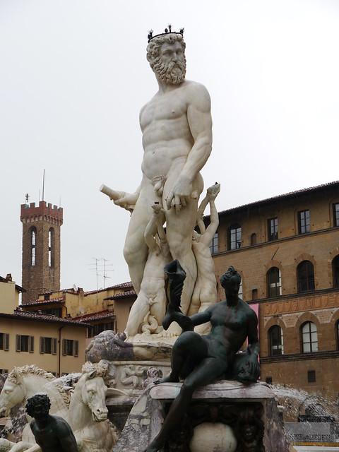 Florenz, Meeresgott Neptun / Sea god Neptune