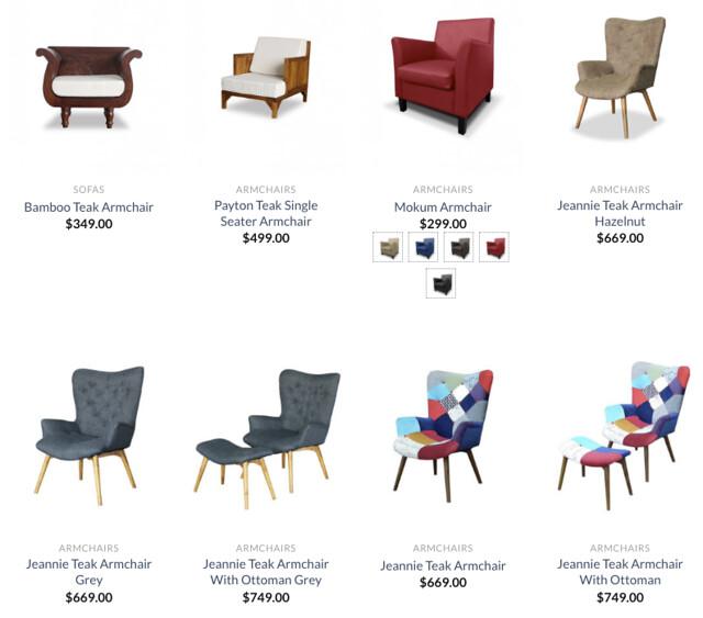 wihardja armchairs