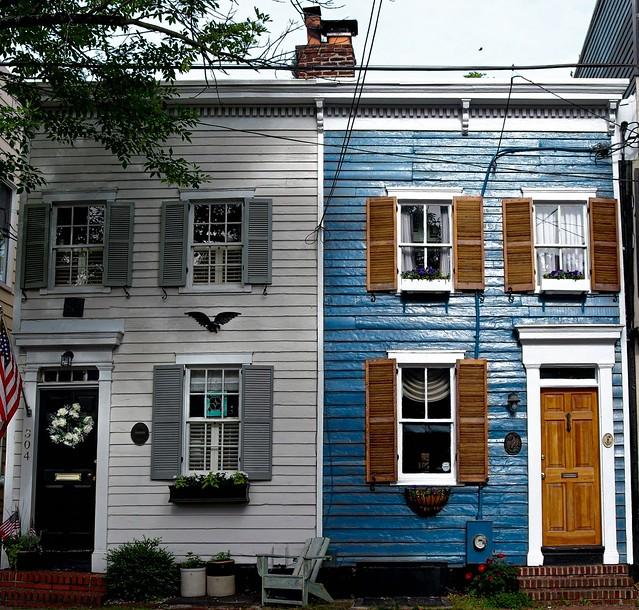 Old Town Alexandria (Virginia / US).