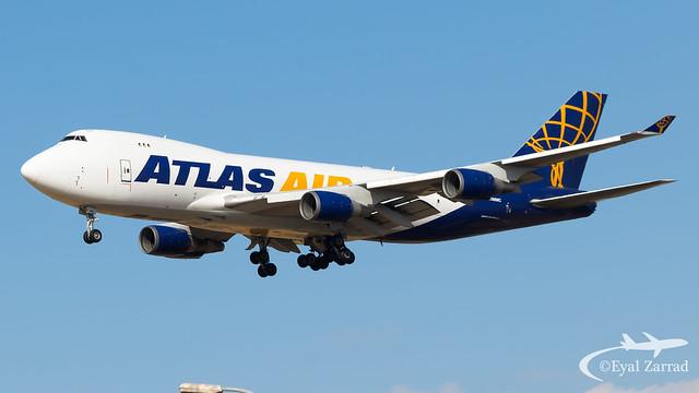 TLV - Atlas Air Boeing 747-400F N486MC