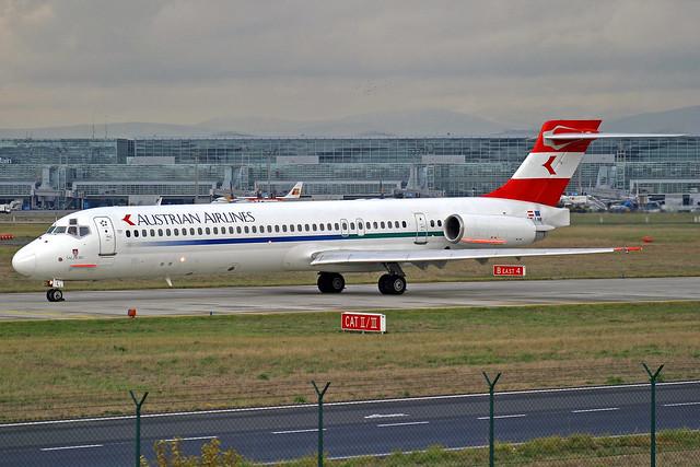 Austrian Airlines McDonnell Douglas MD-87(ER) OE-LML