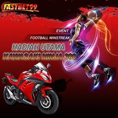 Hanya di Fastbet99 kamu akan mendapatkan hadiah motor kawasaki ninja 300