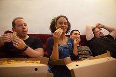 Mmm, pizza