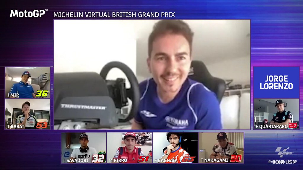 MotoGP Virtual Race British Wild Card