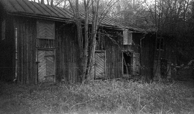 old outbuilding
