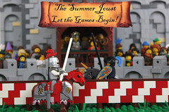 The Joust Begins!