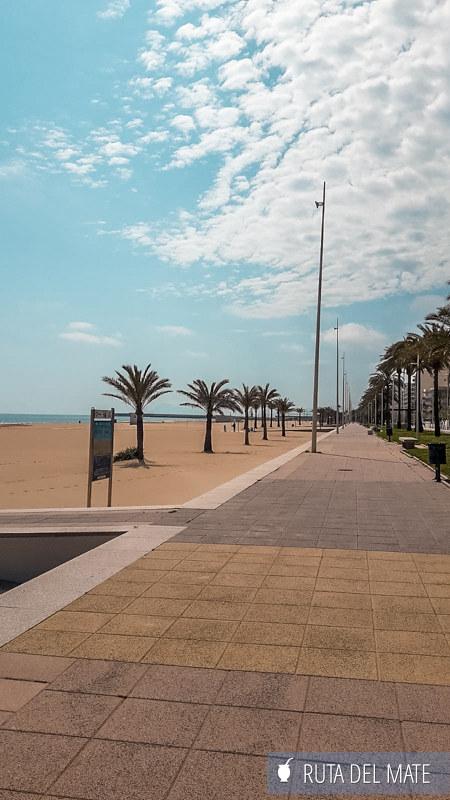 Paseo Marítimo Playa de Gandía