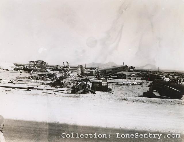 Luftwaffe Aircraft Wrecks in Tunisia, WWII
