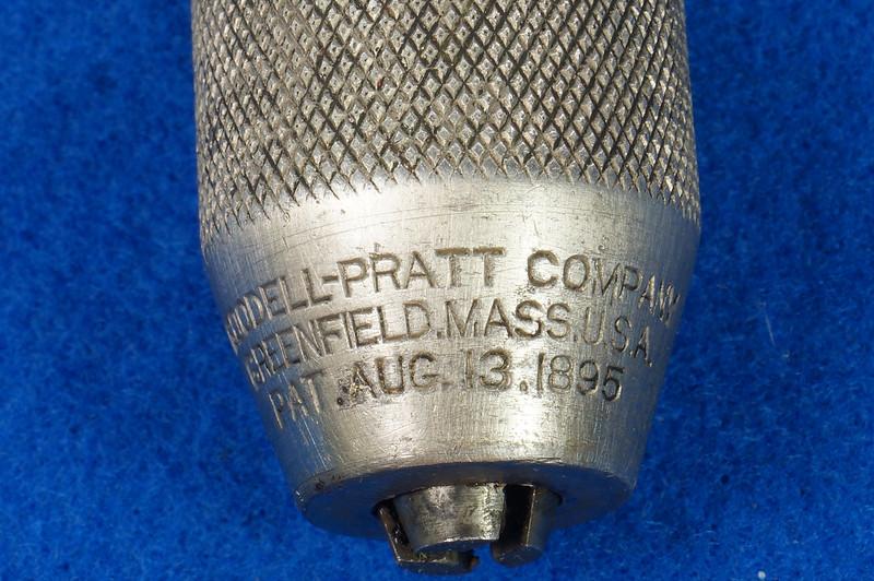 RD27064 Antique 1895 Goodell-Pratt Egg Beater Hand Drill No. 655 DSC06503