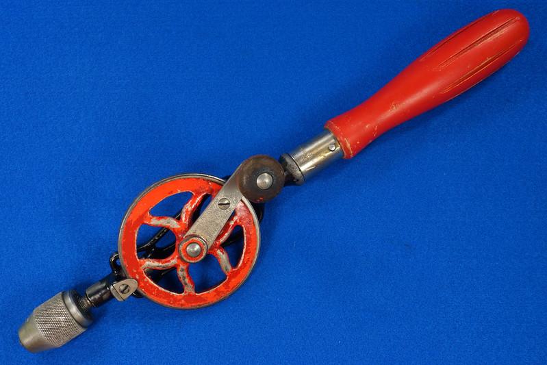 RD27064 Antique 1895 Goodell-Pratt Egg Beater Hand Drill No. 655 DSC06490