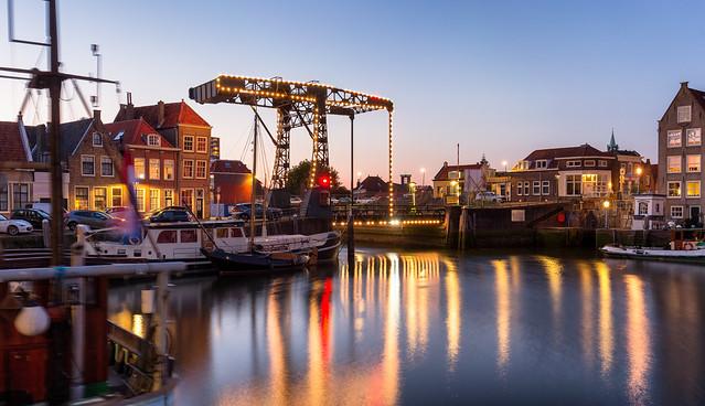 Maassluis / Haven / Ophaalbrug Kerkeiland 2020