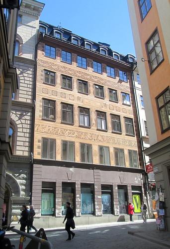 Art Nouveau-ish Building, Stockholm