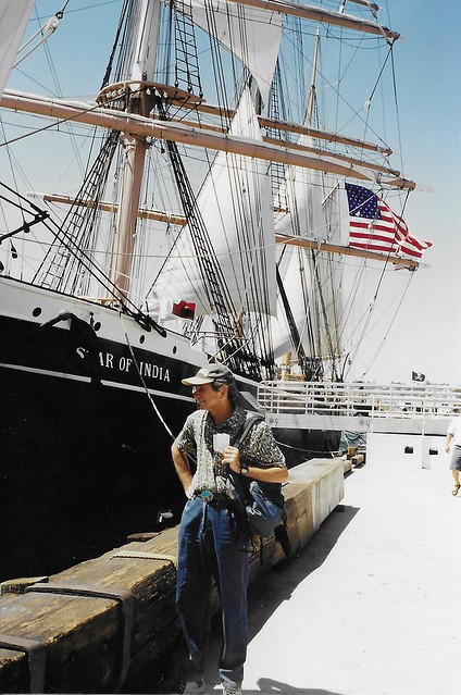 San Diego  California  - Star of India  - Museum Tall Ship