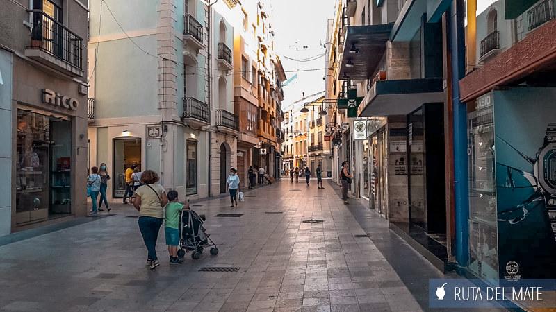 Calle Mayor de Gandía