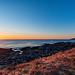 Tors Cove Sunset