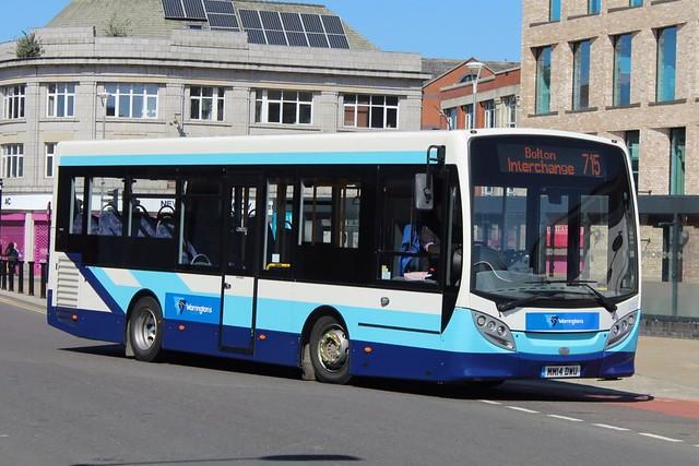 Warrington's Own Buses 237 (MM14 DWU)