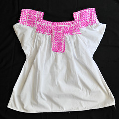 Embroidered Blouse Guerrero Mexico