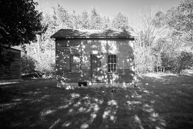 dappled house