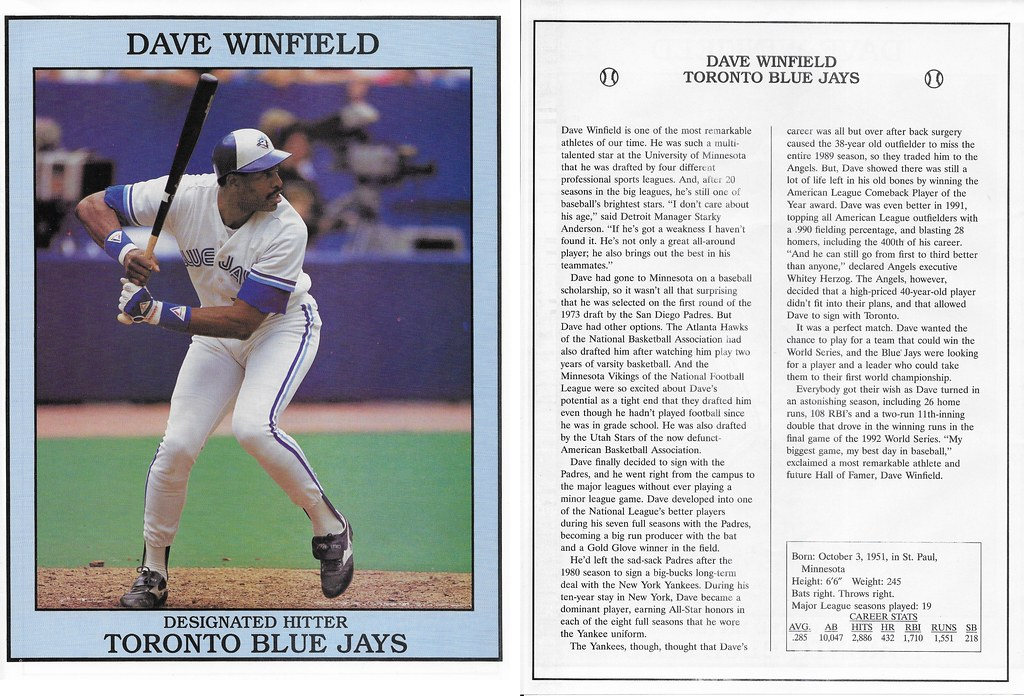 1993 East End Pub Poster Dave Winfield