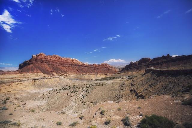 San Rafael Swell View Area,Utah