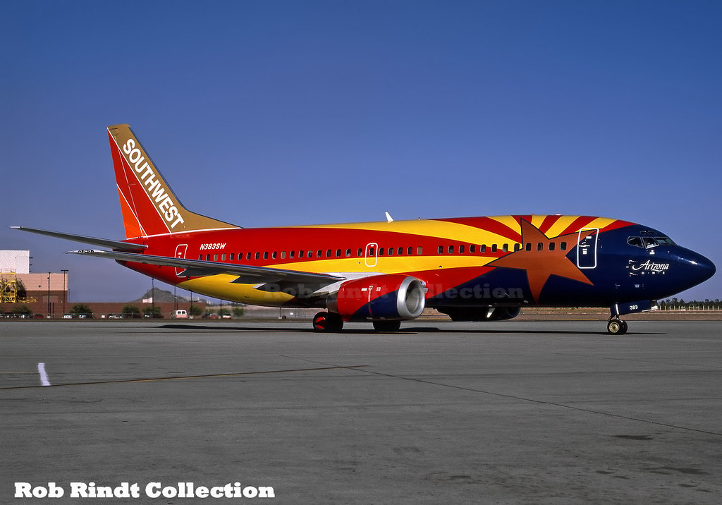 Southwest Airlines B737-3H4 N383SW
