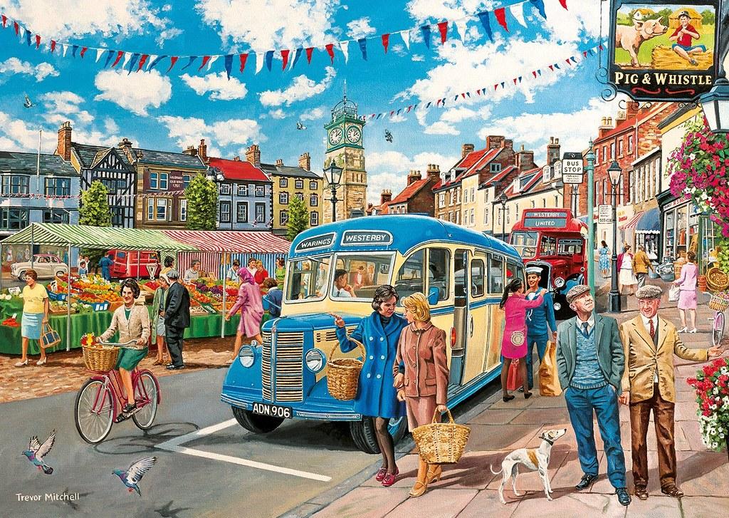 Trevor Mitchell «The bus to market»