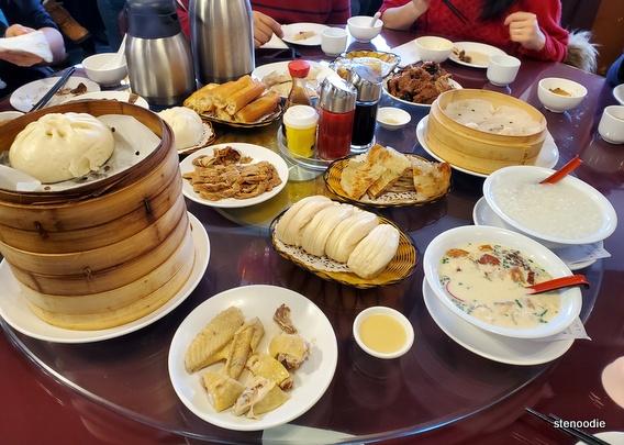 Morning meal at Shanghai Dim Sum