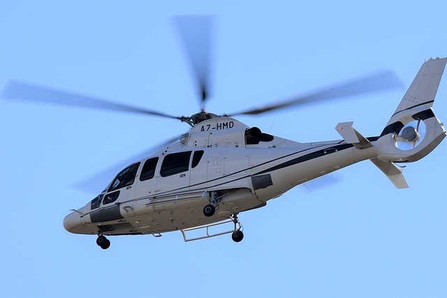 Airbus Eurocopter ECC 155B1 A7-HMD Helicopter