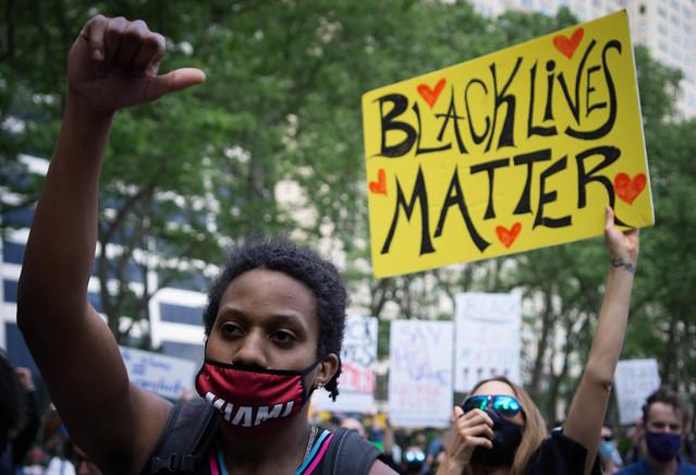 Bryant Park Protest 5/31/20