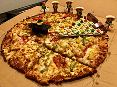 GISH Spring 2020 - Pizza Made out of LEGO