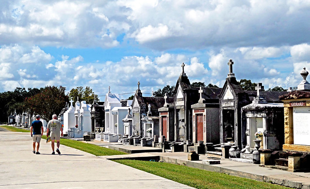St. Louis Cemetery No. 3.