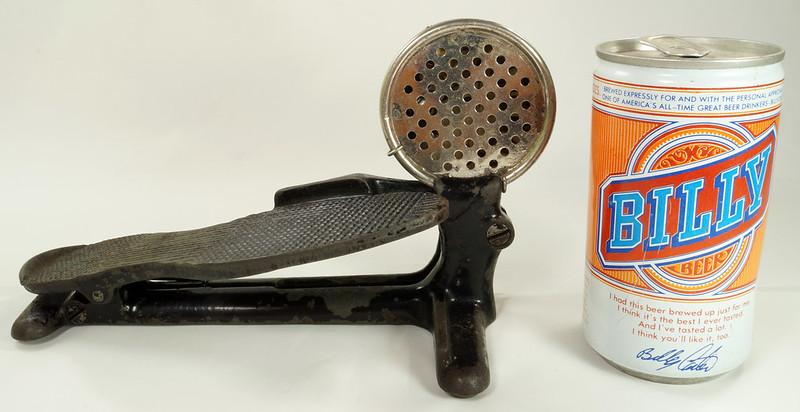 RD26450 Antique Cast Iron Foot Control Pedal Lathe Drill Tool Sewing Machine Rheostat DSC06732