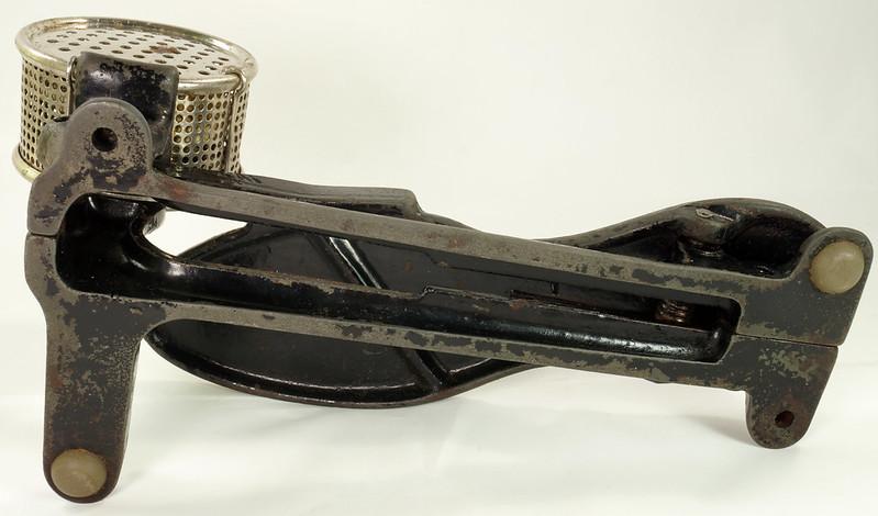 RD26450 Antique Cast Iron Foot Control Pedal Lathe Drill Tool Sewing Machine Rheostat DSC06728