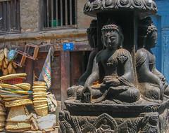 Neighborhood Buddhas. Kathmandu, Nepal 2007
