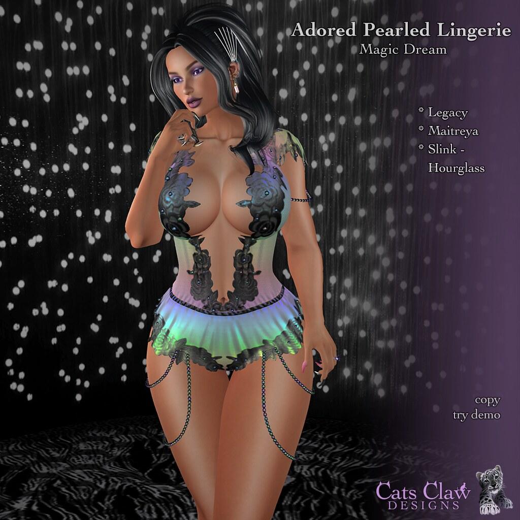 _CCD_ ad Adored Pearled Lingerie Magic Dream