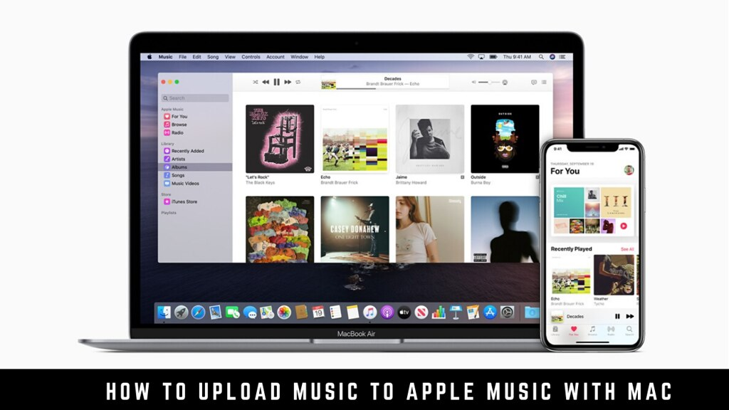 How to upload music to Apple Music with Mac