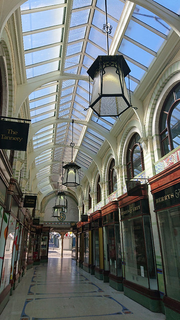 Royal Arcade Norwich Interior