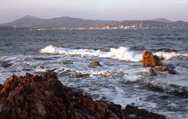 Rochers sur la côte varoise