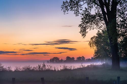 2020 canada detroitriver may ontario windsor riverfront sunrise