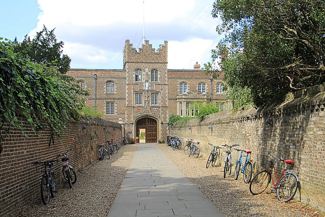 Jesus college gatehouse