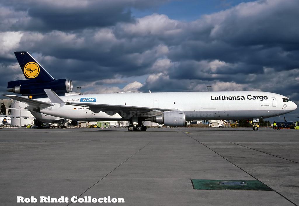 Lufthansa Cargo MD-11F D-ALCB