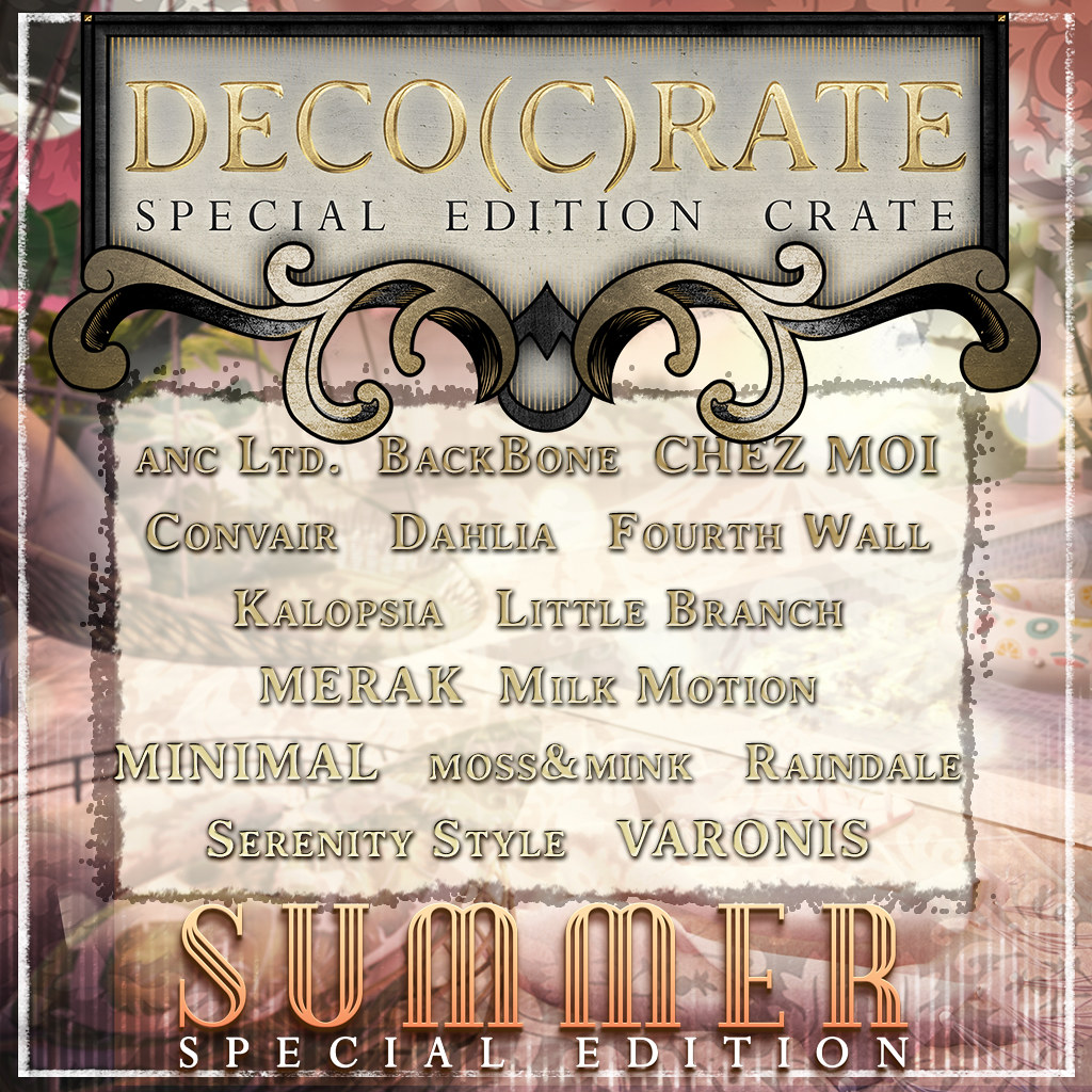 Deco(c)rate Special Edition July 2020!