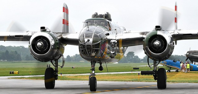 North American B-25 Mitchell  Bomber 430734 N9079Z  44-30734 USAAF Panchito