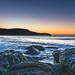 Rocky Sunrise Seascape at the Beach