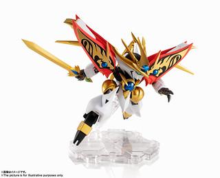 閃耀六塊勾玉的金色龍魔神 NXEDGE STYLE《魔神英雄傳 七魂的龍神丸》 [MASHIN UNIT] 煌龍丸