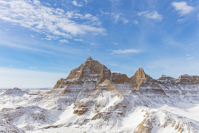Peaks in the Badlands